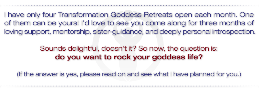 Want to rock your Goddess?