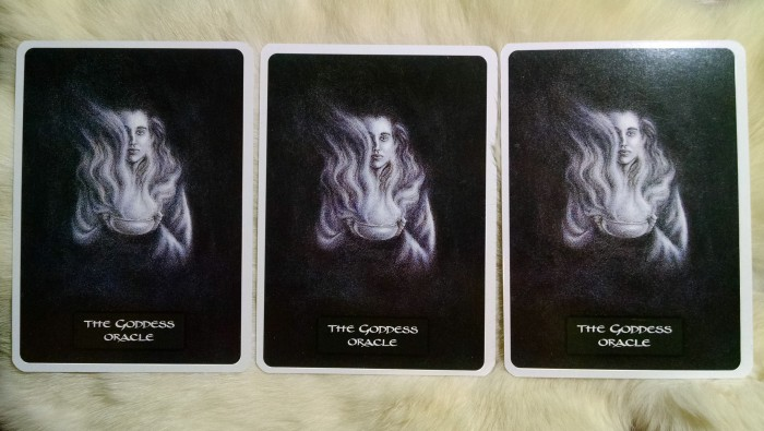 Goddess Card Monday