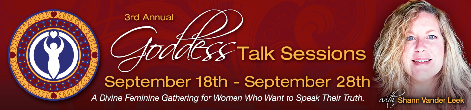 Reclaim your voice and speak your truth at the 3rd Annual Goddess Talk Sessions Global Event.