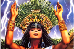 Ixchel illuminates the power of divine healing
