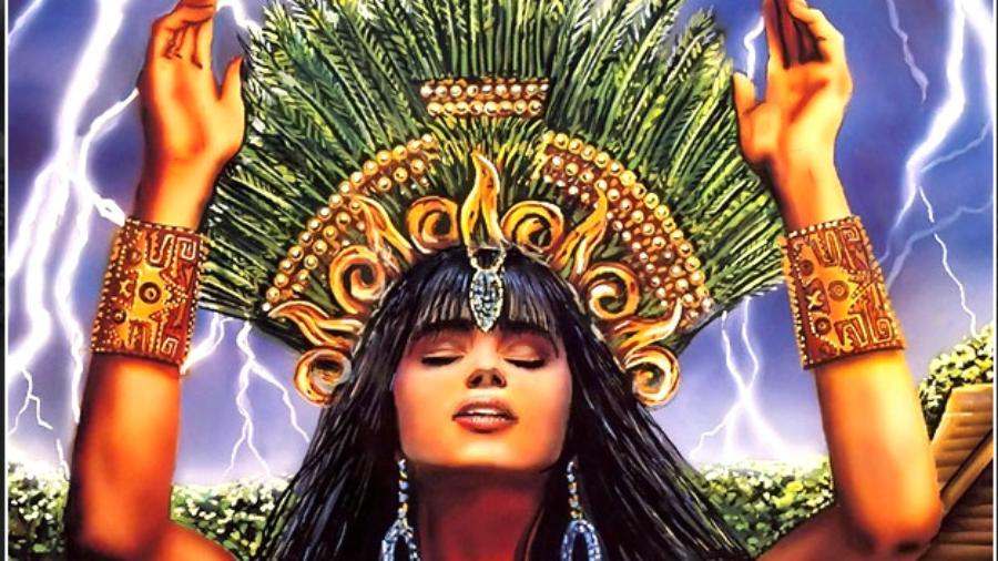 Ixchel illuminates the power of divine healing