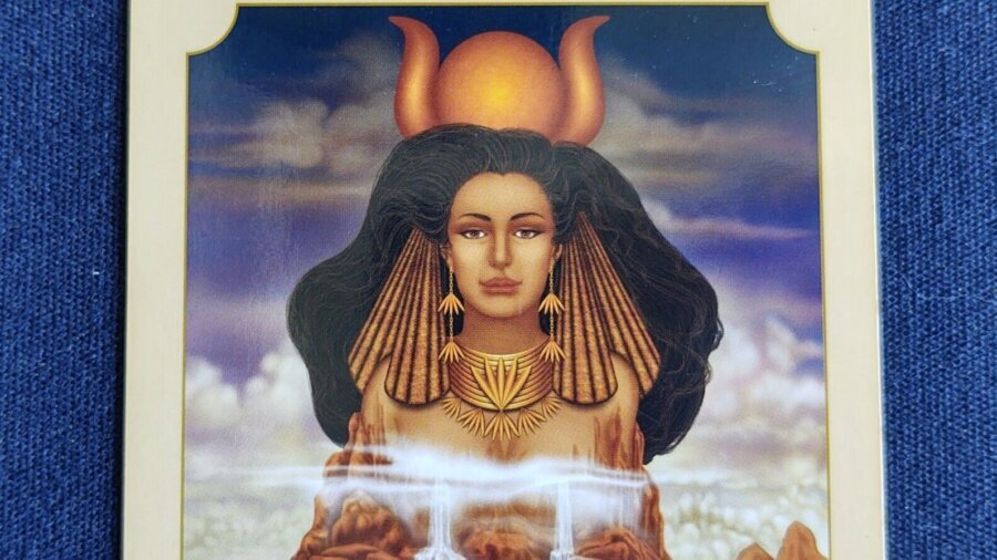 Hathor invites us to open to receptivity
