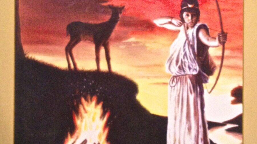 Artemis offers guardianship and spiritual protection